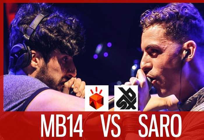 MB14 vs SARO Beatbox LOOPSTATION Battle 2017 SEMI 决赛