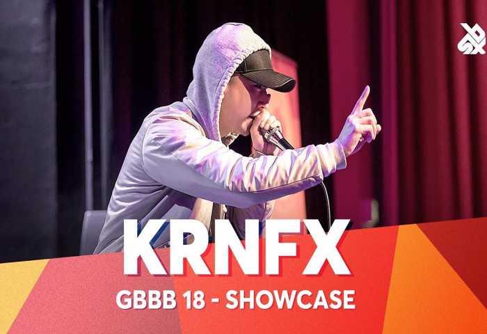 KRNFX Beatbox Battle 表演 2018