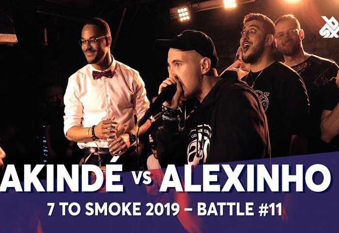 AKINDÉ vs ALEXINHO Beatbox 7 TO SMOKE  2019 Battle 11