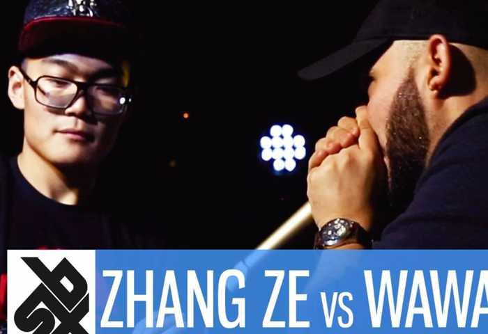 张泽 vs WAWAD Beatbox 7 TO SMOKE  2017 Battle 1