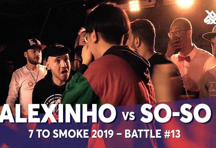 ALEXINHO vs SO-SO Beatbox 7 TO SMOKE  2019 Battle 13