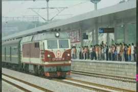 中国传统口技火车。大师的魅力。