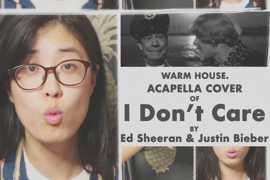【单人阿卡贝拉翻唱】用人声制作一首I Dont Care (Acapella Cover)